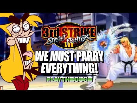 EVO MOMENT 37PARRY EVERYTHING: 3rd Strike OE Expert Parry Trials Stream Highlights