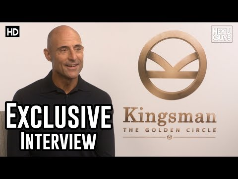 Mark Strong  Kingsman The Golden Circle Exclusive