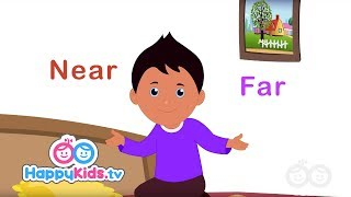 Скачать Opposites Near And Far Learning Songs For Kids And Children Happy Kids