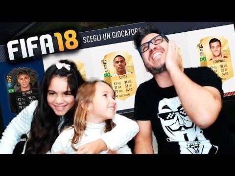 LE MIE FIGLIE SCELGONO I PIU' BELLI - DRAFT CHALLENGE FIFA 18