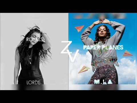 Paper Planes x Royals (M.I.A / Lorde Mashup)