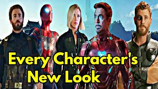 Every Character's New Look In Infinity War |Explained In HINDI | Characters New Suit In Infinity War