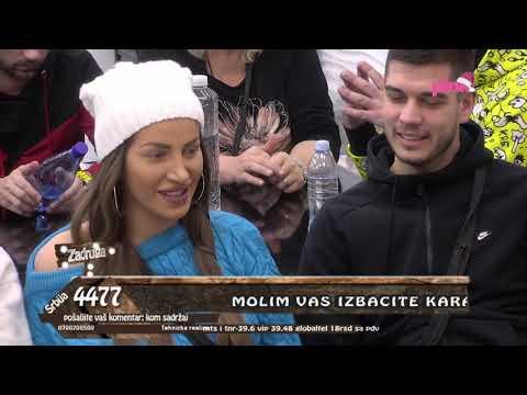 Zadruga 3 - Zadrugari saterali Dalilu u ćošak zbog Karića, ona nije imala komentar - 09.01.2020.