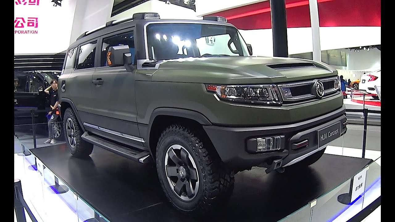 2016, 2017 Dongfeng Fengshen HUV Concept Debuts On The ...