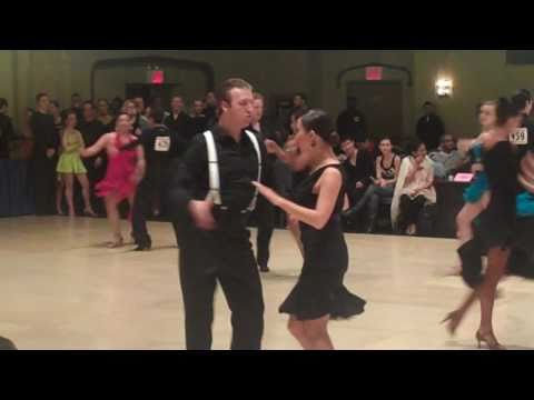 Gold Latin - Cha Cha - MAC 2011 (Brandon and Elise)