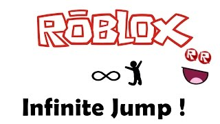 ROBLOX İnfinity Jump Hack 2017 !!