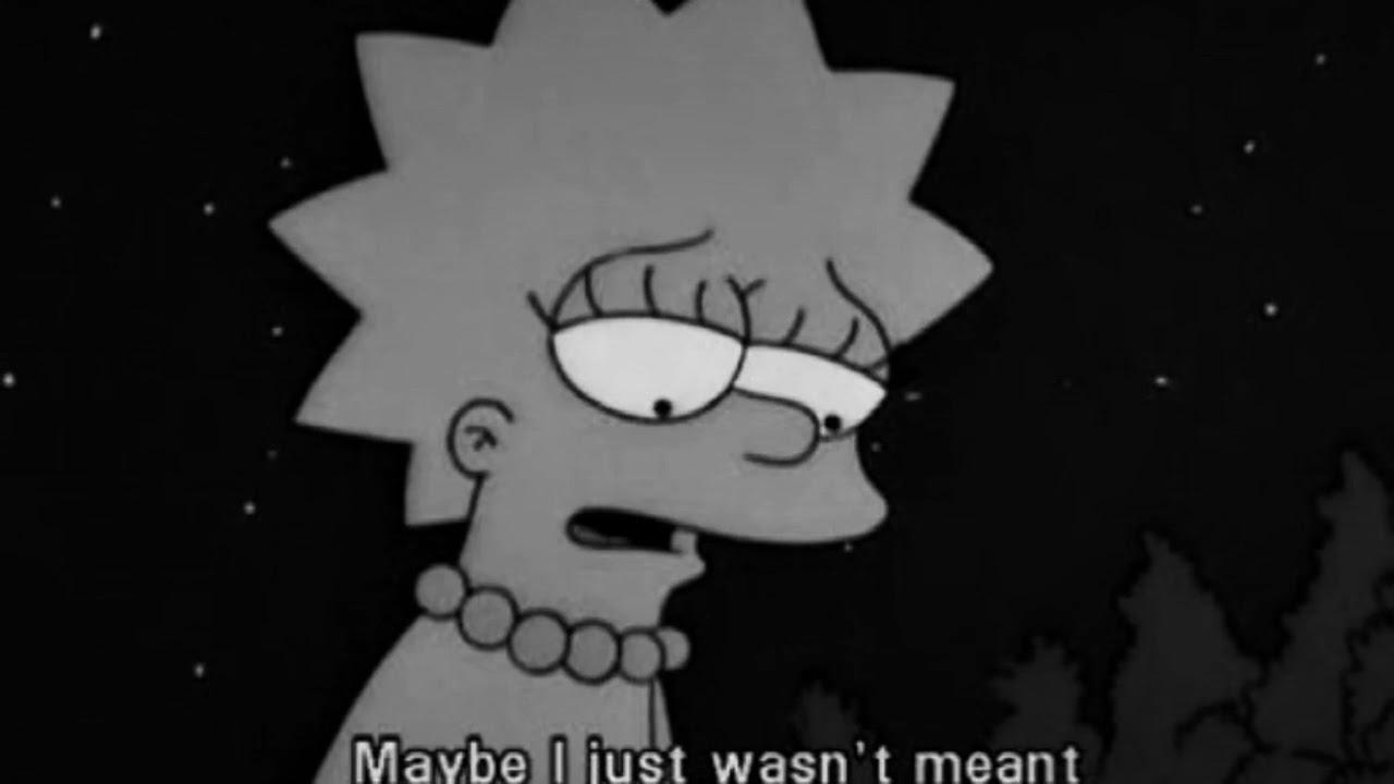 Lisa Simpson Tumblr Sad Fondos