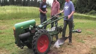1. Eichsfelder Oldtimer und Motor Raritätentreffen in Rhumspringe / Brachland Pflügen Holder