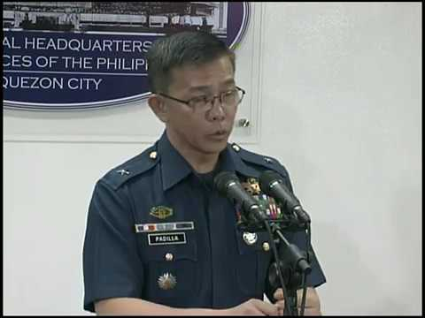 AFP Press Conference on Marawi City