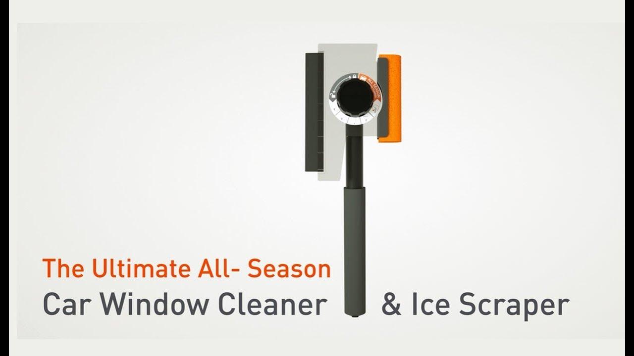 Car Window Ice Scraper Best Ice Scraper And Snow Broom Youtube