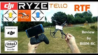 DJI Ryze Tello RTF review -  Features & Flight tests (Part II)