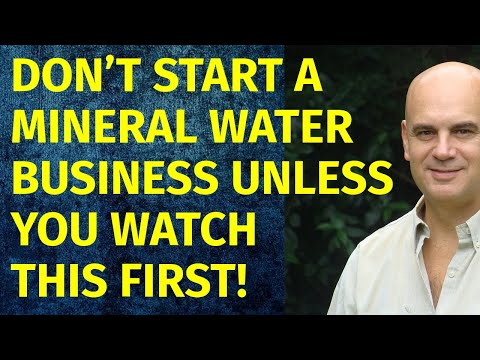 How To Start A Mineral Water Business | Including Free Mineral Water Business Plan Template