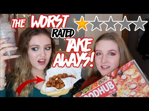 WE ORDERED FROM THE WORST RATED TAKEAWAYS IN OUR CITY...😱