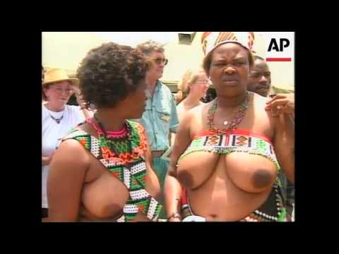 SOUTH AFRICA: BRITISH TROOPS & ZULU WARRIORS UNVEIL MEMORIALS
