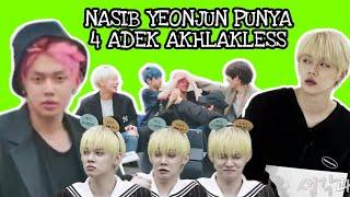 Download lagu NASIB YEONJUN PUNYA 4 ADEK AKHLAKLESS   TXT YEONJUN
