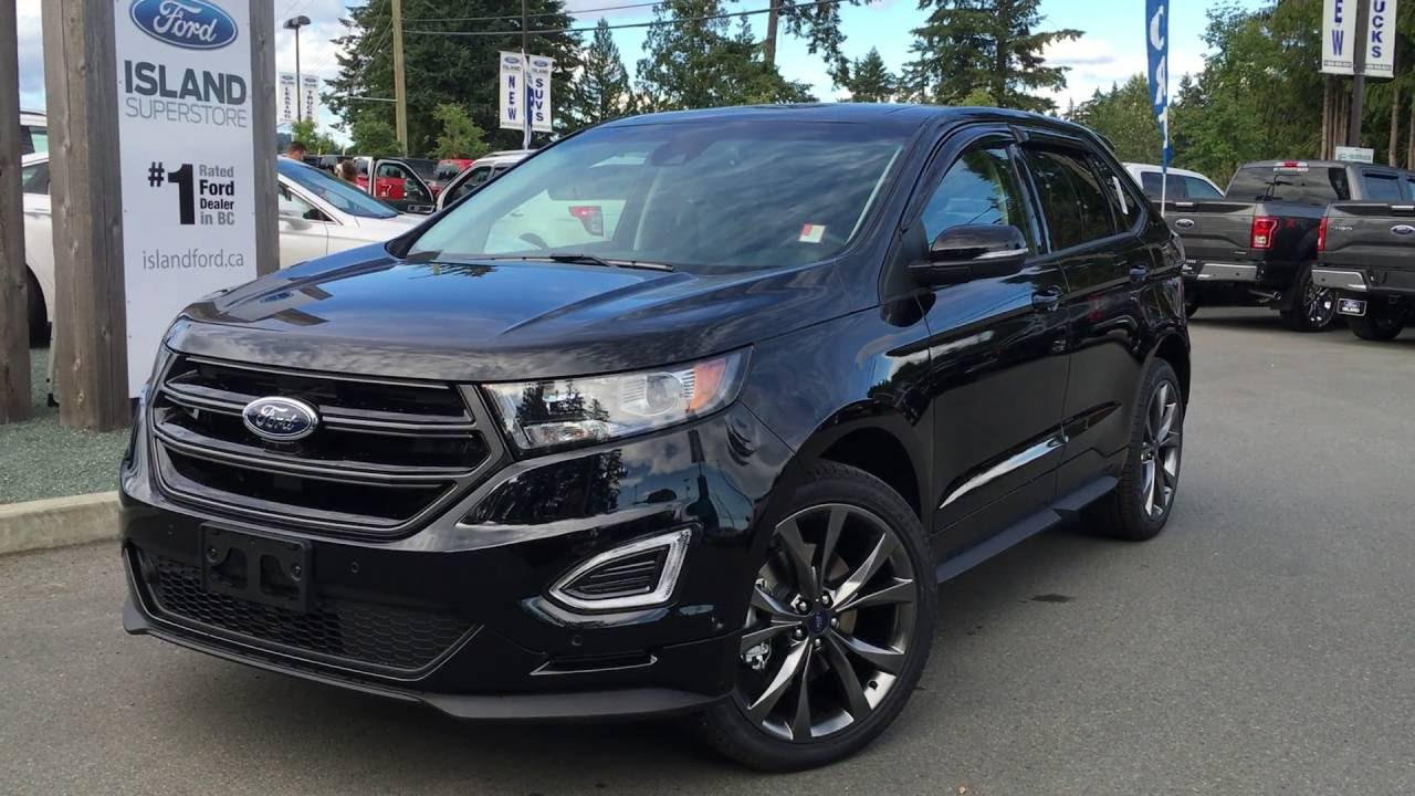 2016 Ford Edge Sport | Island Ford - YouTube