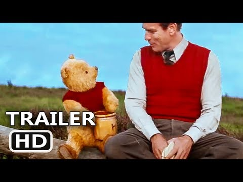 CHRISTOPHER ROBIN    3 2018 Ewan McGregor, Winnie the Pooh Disney Movie HD