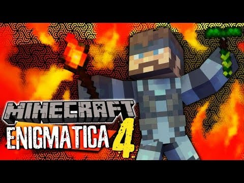 Minecraft Enigmatica 4 - RAVS' MAGICAL RODS #24