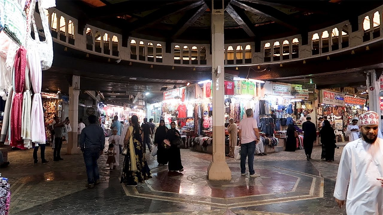 THE MUTTRAH SOUQ IN MUSCAT!! | Relaxing Muscat