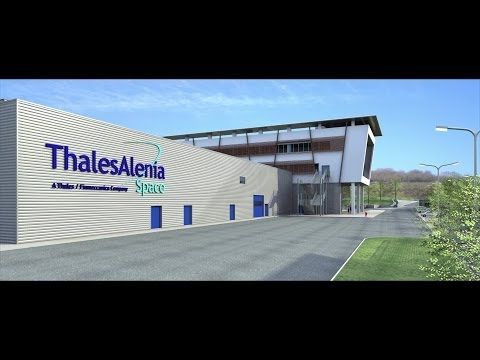 Thales Alenia Space: New industrial site in L'Aquila inaugurated