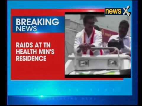 I-T raids TN Health MinisterC Vijayabaskar's residence