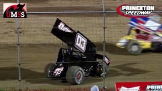 Princeton Speedway UMSS Sprint Car Highlights