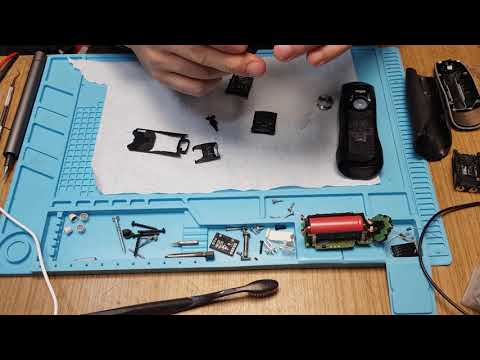 Complete Teardown Of Braun Series 7 Shaver, Repair Of Trimmer