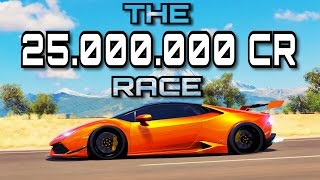 INSANE FORZA HORIZON 3 RACE | 25.000.000 CR + 229 Levels | Fastest way to level up!