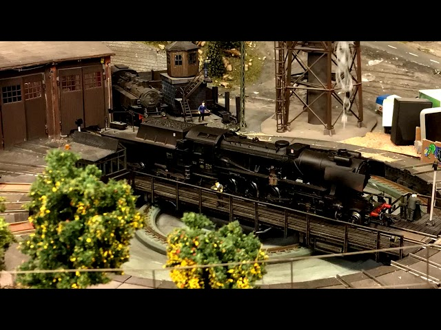 Modelrail and Timelapse video