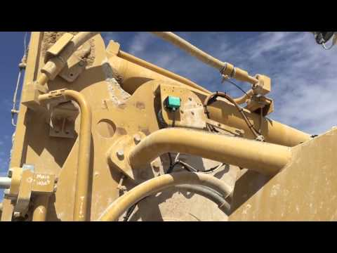 Unique Solutions for Industry Installation of Loup Electronics Weighlog Vue on a CAT 988G Loader in