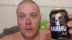 Saunassa testissä karhu olut