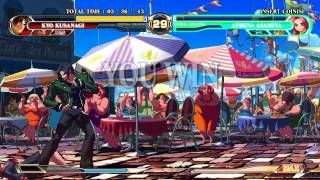 King of Fighters XII TypeX2 HD Gameplay 2011 With Kyo/Terry/Ryo