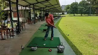 Driving Golf Iron Shot -  Tri Winarto