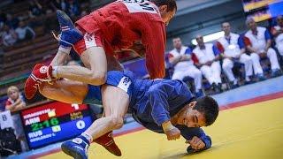 Чемпионат Европы по самбо 2015. Финалы. День 1