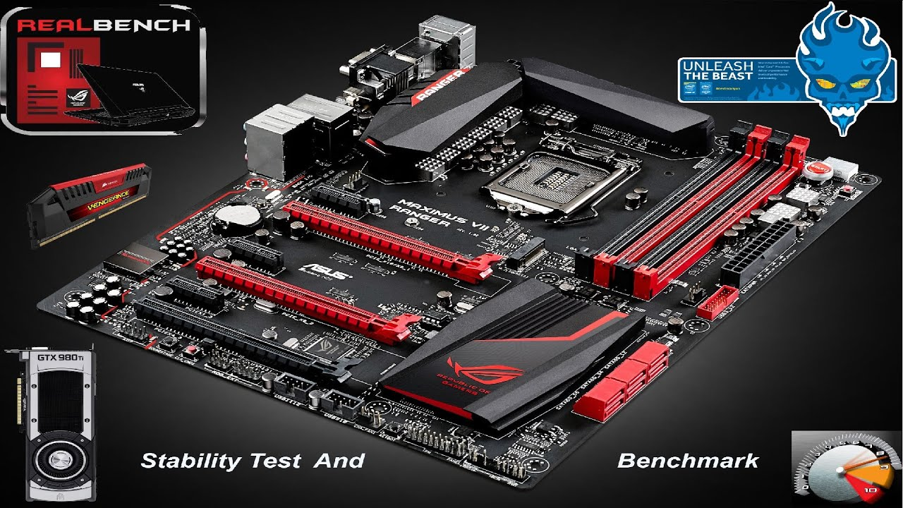 Asus RealBench Stability Test & Benchmark Software | i7 4790K @4 8Hz