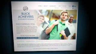 Buick Announces Achievers Scholarship for Students