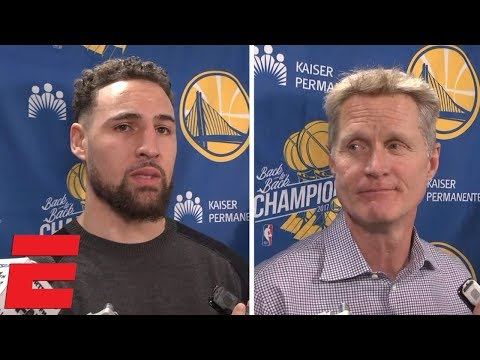 """Klay Thompson and Steve Kerr say """"embarrassing"""" loss to Bucks at Oracle fueled Warriors 
