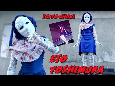 Tokyo Ghoul Eto Yoshimura Halloween Costume Tutorial 2018 Youtube