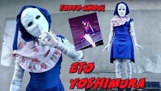 TIMA'S TOKYO GHOUL: ETO YOSHIMURA Halloween Costume Tutorial 2018