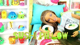DIY - How to Make:  Doll Sushi Pillow - Easy - Handmade - Crafts