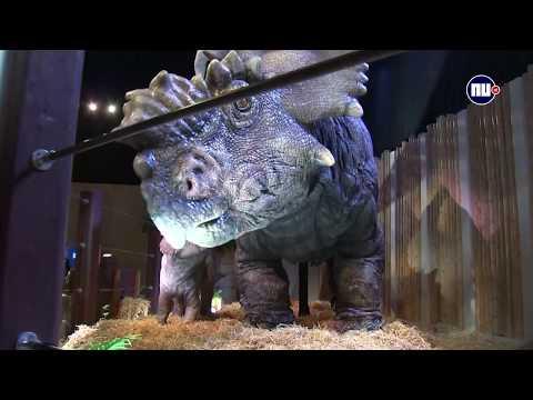 Bewegende dino's uit Jurassic Park te zien in Parijs