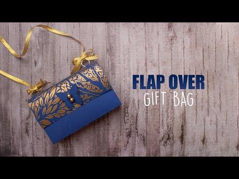 Flap Over Gift Bag | Paper Bags | DIY Gift Bag