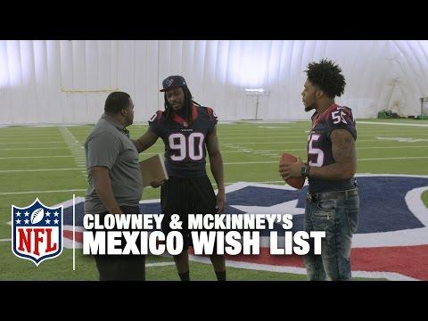 Jadeveon Clowney & Benardrick McKinney