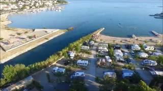 Dronem w Chorwacji - Split Camping Stobreč 2016 #1