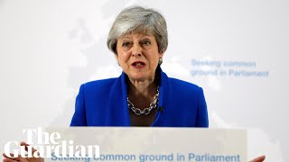 May outlines details of 'new' Brexit deal offered to MPs - watch live
