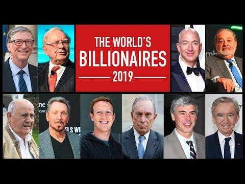 Top 10 Billionaires in The World | 2019