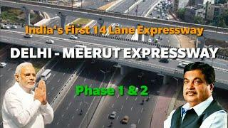 Delhi Meerut Expressway// India's First 14 Lane Expressway// One Day Traveller