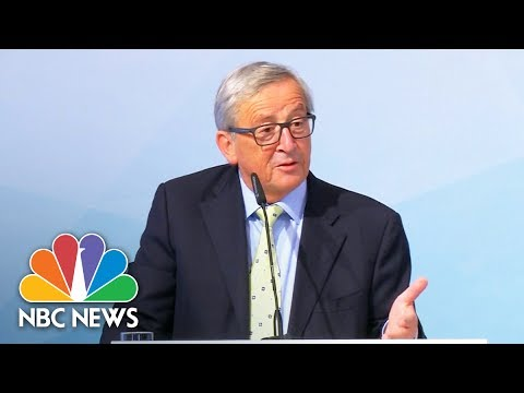President Donald Trump's Understanding Of Paris Climate Deal Mocked In Europe | NBC News