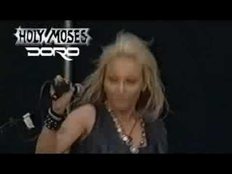 Holy Moses & Doro  Too Drunk To Fuck  @ Wacken 2001