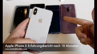 Apple iPhone X Erfahrungsbericht nach 10 Monaten